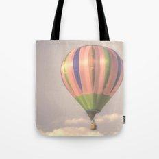 Magical pink balloon Tote Bag