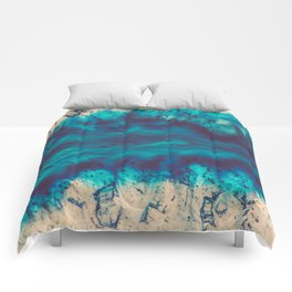 Blue Agate River of Earth Comforters