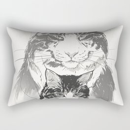 My cat Cloud Rectangular Pillow