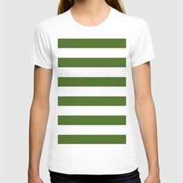Simply Stripes in Jungle Green T-shirt