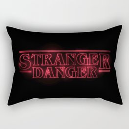 Stranger Danger Rectangular Pillow