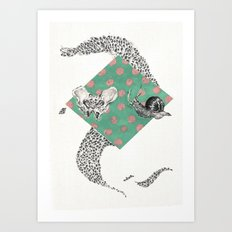 Snail and Pelvics  Art Print