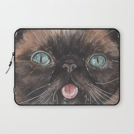 Der the Cat - artist Ellie Hoult Laptop Sleeve