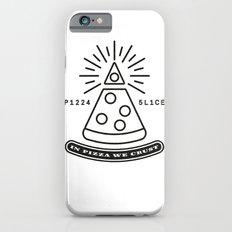Dollar Slice WHITE Slim Case iPhone 6s