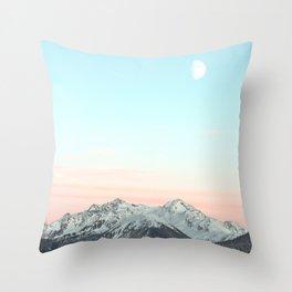 Mountains Landscape Throw Pillow