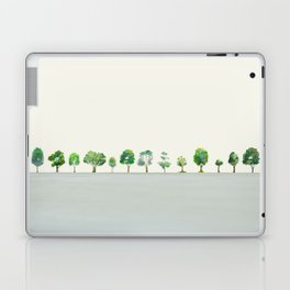 A Row Of Trees Laptop & iPad Skin