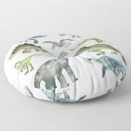 Dinosaurs Floor Pillow