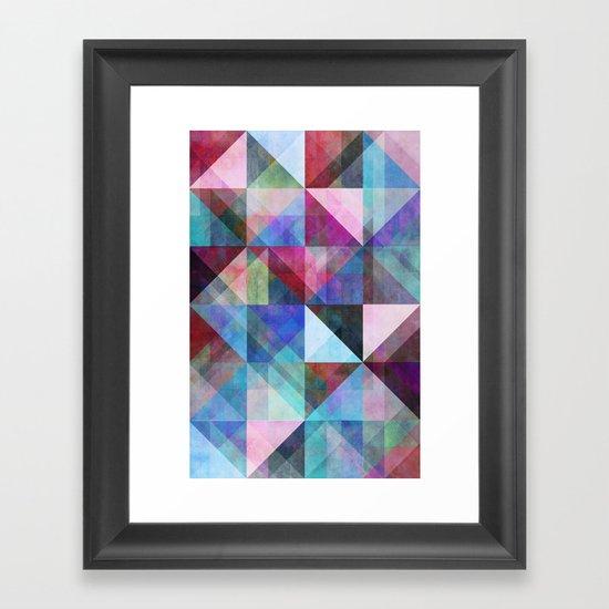 Graphic 83 X Framed Art Print