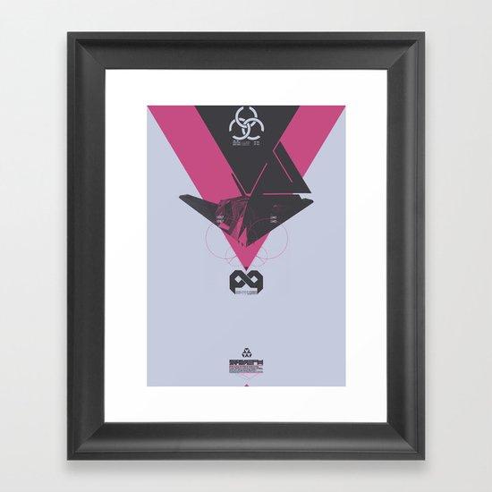 STEALTH:F117 Nighthawk Framed Art Print