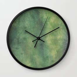 Tropic moss Wall Clock