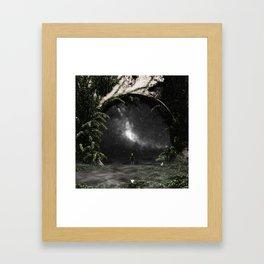 ASTRONOMY ∀ Framed Art Print