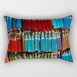 Tassels Rectangular Pillow