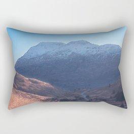 Fall in Alaska Photography Print Rectangular Pillow
