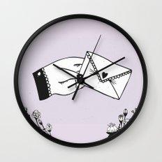 Snail Mail Love Wall Clock