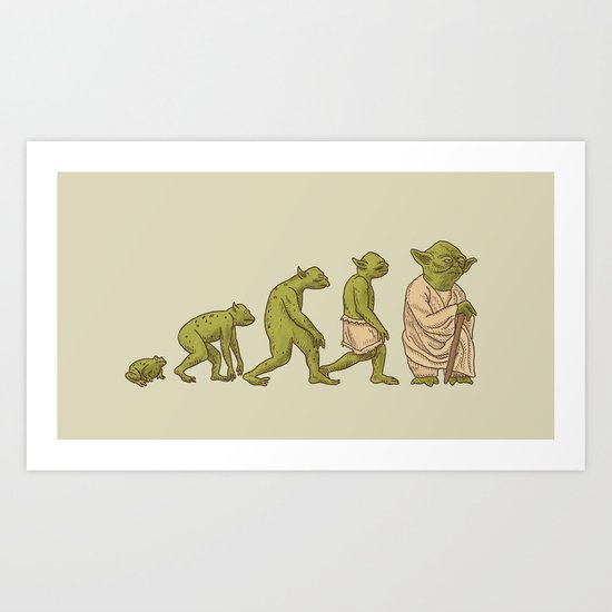 Yodalution  Art Print