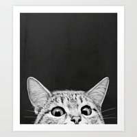 Art Prints featuring You asleep yet? by Laura Graves