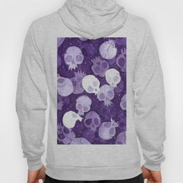 lilac pattern Hoody