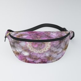 Floral fusion mandala Fanny Pack