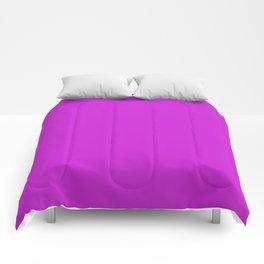 Dazzling Violet Comforters