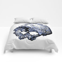 Human Skull Comforters