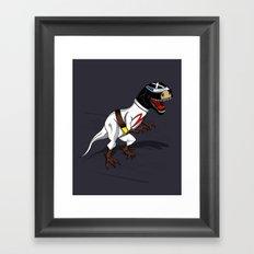 T-Rex (The X Roarcer) Framed Art Print