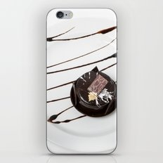 dark chocolate cake iPhone & iPod Skin