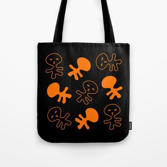 Aliens-Orange Tote Bag