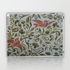 Bird & leaves Laptop & iPad Skin