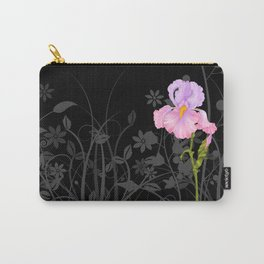 Iris pink mauve Carry-All Pouch