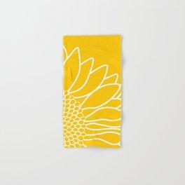 Sunflower Cheerfulness Hand & Bath Towel