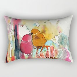 cheek to cheek Rectangular Pillow