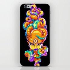 Tentacle Demoness (ORANGE version) iPhone & iPod Skin