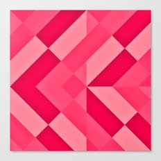 Shades of Pink abstract Canvas Print