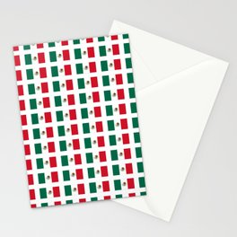 Flag of mexico 3 - mexico,mexico city,mexicano,mexicana,latine,peso,spain,Guadalajara,Monterrey Stationery Cards