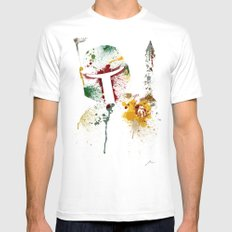 Bounty hunter White LARGE Mens Fitted Tee