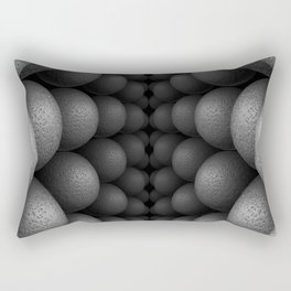 Black and White Bilateral Rectangular Pillow