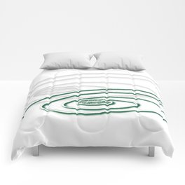 Emerald-Green Eye Comforters