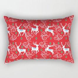Christmas Reindeer II Rectangular Pillow