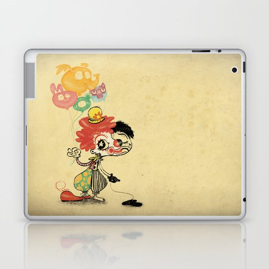 The Clown / Balloons / Facade Laptop & iPad Skin