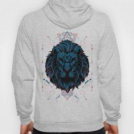 The Lion sacred geometry Hoody