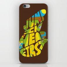 Jump In Head First iPhone & iPod Skin