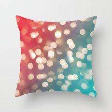 Lights & Gradients III Throw Pillow