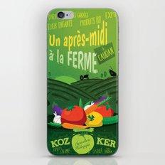 Un après-midi à la ferme : été iPhone & iPod Skin