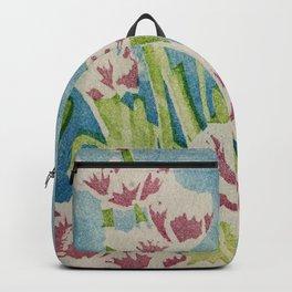 Monet's Tulips Backpack