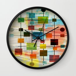 MidMod Graffiti 4.0 Wall Clock