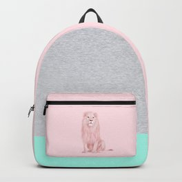 PINK LION Backpack
