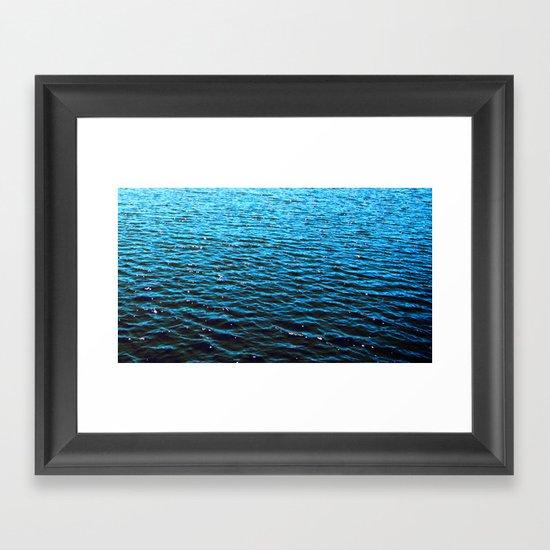 .deep. Framed Art Print