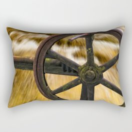 old locks wheel Rectangular Pillow