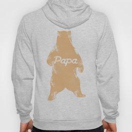 Big Papa Bear Hug Gift For Dad Father Grandfather Family Hoody