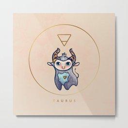 Baby Taurus - Baby Zodiac Collection Metal Print